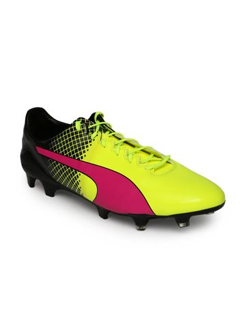 Puma | Puma Men Fluorescent evoSPEED 1.5 FG Football Shoes