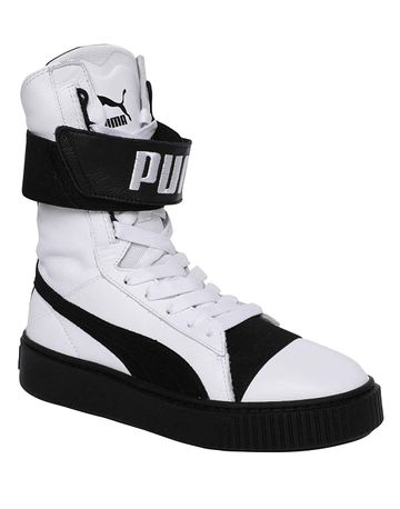 Puma | Puma Womens Platform Boot Leather Sneakers