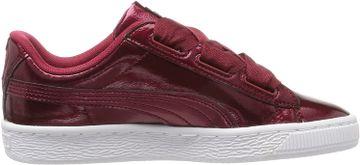 Puma   Puma Girls Basket Heart Glam Jr Sneakers