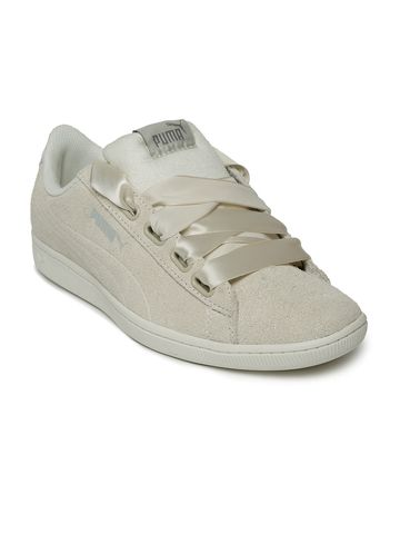 Puma | Puma Women Off-White Vikky Ribbon S Sneakers