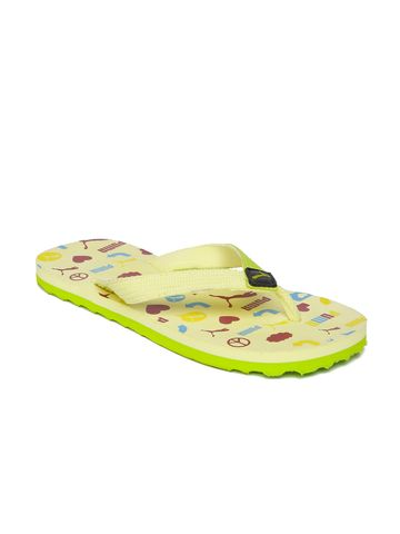 Puma | Puma KidsPrinted Terry Y1 GU PS IDP Thong Flip-Flops