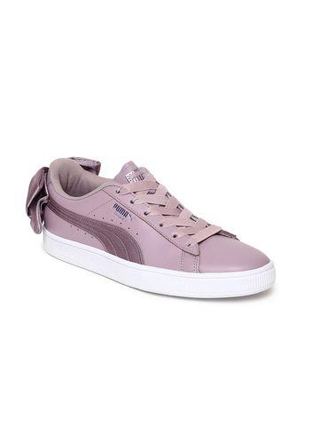 Puma | Puma Women Basket Bow Satin Sneakers