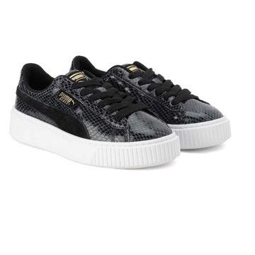 Puma | PUMA Womens Platform Snake Lux Sneakers