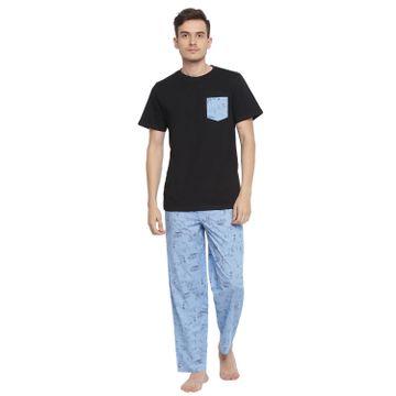 La Intimo   On The Beach Pyjama TShirt Set