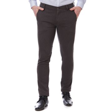 TAHVO | Black TAHVO Men casual trousers