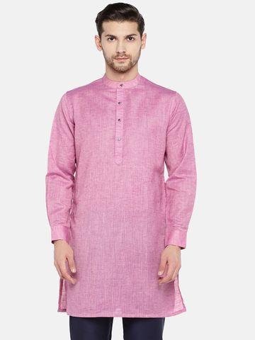 Ethnicity | Pink Cotton kurta