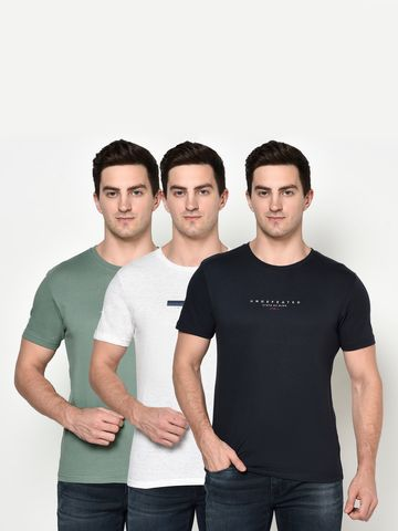 OCTAVE | Men COMBO1 T-Shirts