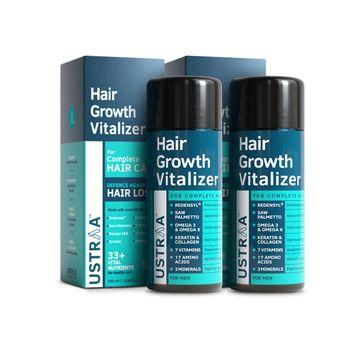 Ustraa | Ustraa Hair Growth Vitalizer - 100 ml - Set of 2