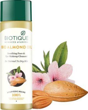 Biotique Advanced Ayurveda | BIOTIQUE Bio Almond Oil Cleanser  (120 ml)