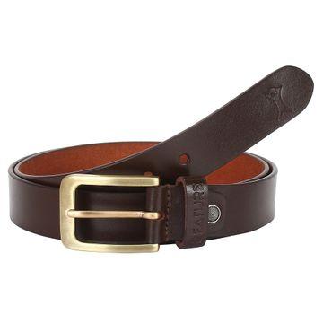 CREATURE | CREATURE Genuine Brown Leather Brown Belt for Men