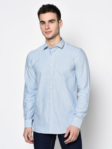 METTLE | Men SKY Casual Shirts
