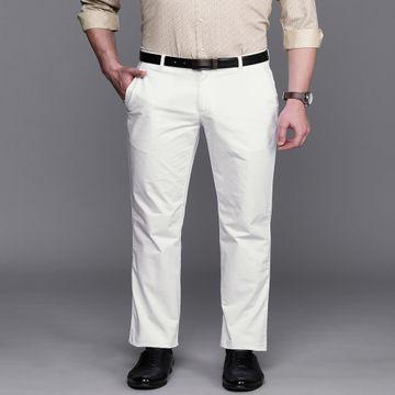 Raymond | Raymond White Trouser
