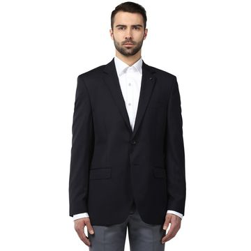 Raymond | Dark Blue Solid Blazer