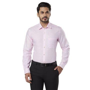 Raymond | Pink Printed Formal Shirt