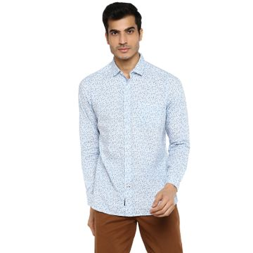 RED CHIEF | Red Chief Men Printed Casual Shirt (White)
