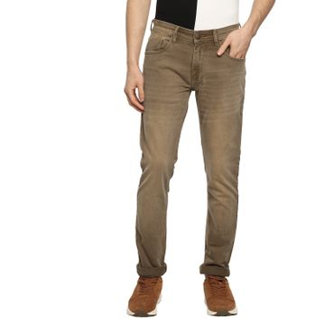 RED CHIEF | Red Chief Men Solid Casual Jeans (Camel)