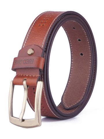 RED CHIEF | Red Chief Men Leather Casual Belt (Tan)