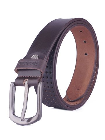 RED CHIEF | Red Chief Men Leather Casual Belt (Brown)