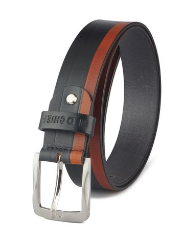 RED CHIEF   Red Chief Men Leather Casual Belt (Multi Colour)