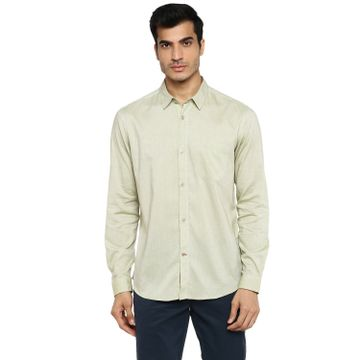 RED CHIEF | Red Chief Men Solid Casual Shirt (Olive)