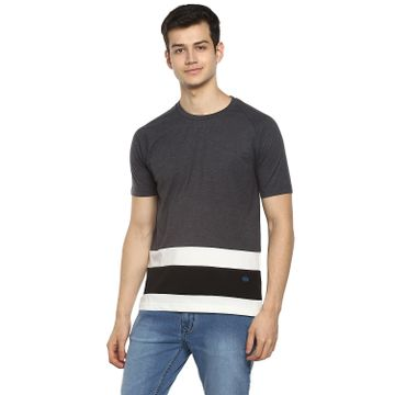 RED CHIEF   Red Chief Men Solid Casual T-Shirt (Multi)