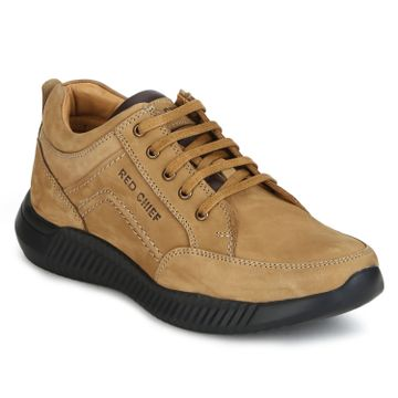 RED CHIEF | Camel Casual Lace-ups