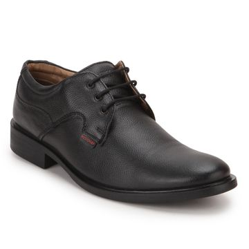 RED CHIEF | RC2282 001 -  Black Derby Shoes