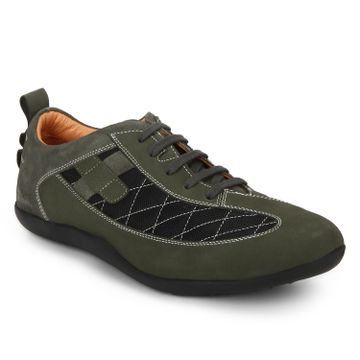 RED CHIEF | Green Casual Lace-ups