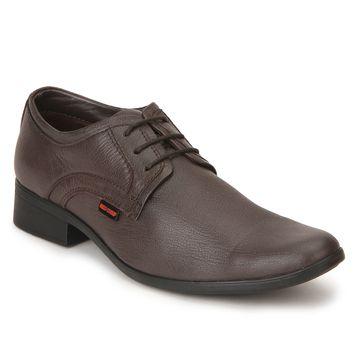 RED CHIEF | Dark Brown Derby Shoes