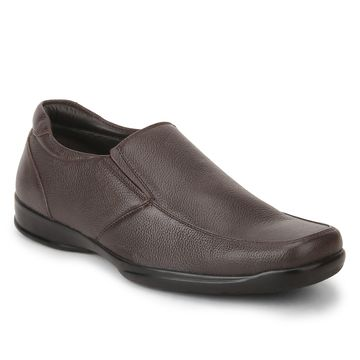 RED CHIEF | Brown Formal Slip-ons
