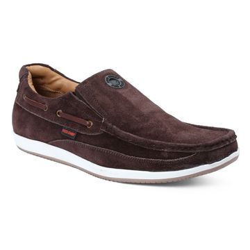 RED CHIEF | RC3504 096 - Coffee Casual Slip-ons
