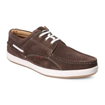 RED CHIEF | Coffee Casual Lace-ups