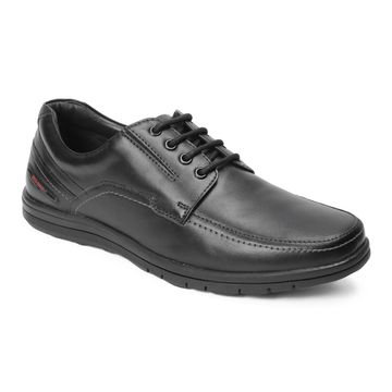 RED CHIEF | Black Casual Lace-ups