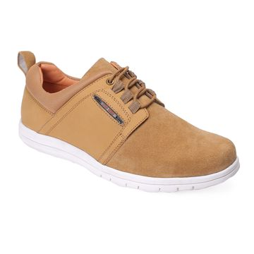 RED CHIEF | Beige Casual Lace-ups