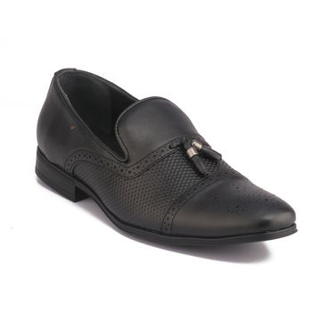 RED CHIEF | Black Formal Slip-ons