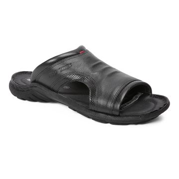 RED CHIEF   Black Sandals