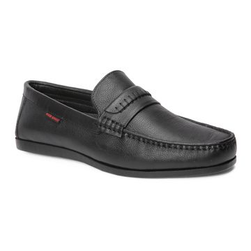 RED CHIEF | Black Loafers