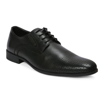 RED CHIEF | Black Derby Shoes