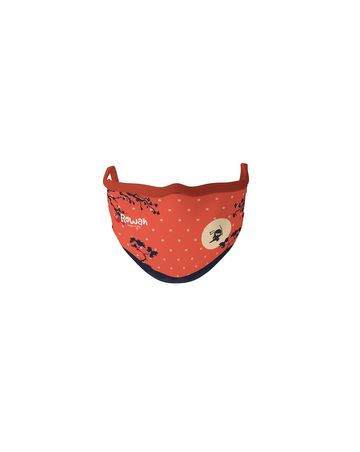 Mothercare | Unisex Ninja Face Mask-Orange