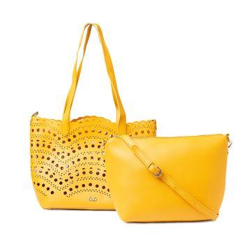 globus | Globus Ochre Shopper Bag