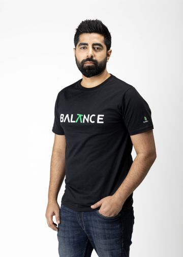 Bottle&Co | Balance Tee Black