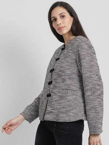 Zink London | Zink London Women's Multi Self Design Tailored Jacket