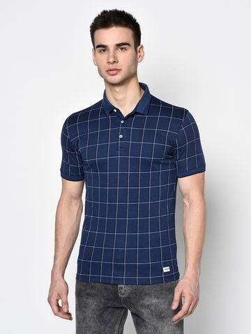 OCTAVE | Men INDIGO T-Shirts