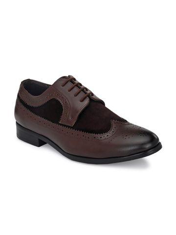 San Frissco | San Frissco Men Duke Shortwing Brogues Faux Leather Brogues
