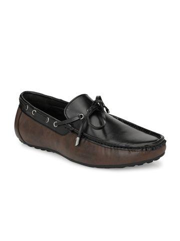 San Frissco | San Frissco Men Charles Black Faux Leather Moccasin