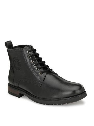 San Frissco | San Frissco Men Cavalry Black Faux Leather Boots
