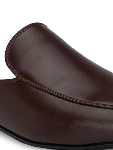 San Frissco | San Frissco Men Owen Brown Mules Faux Leather Casual Mules