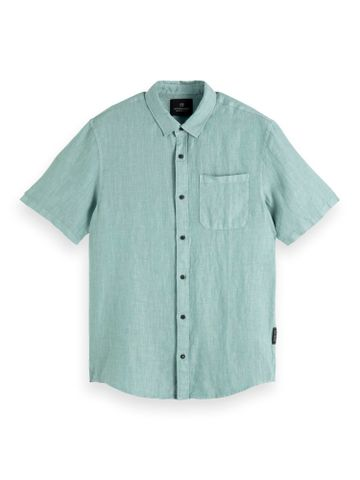 Scotch & Soda   Emerald Melange Casual Shirt