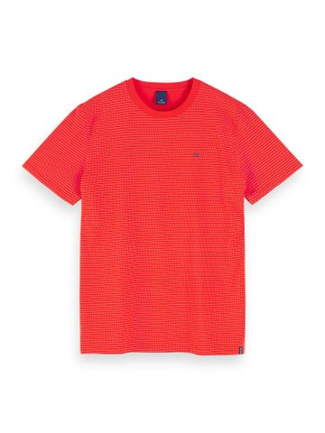 Scotch & Soda | Red Printed Regular Fit T-Shirt