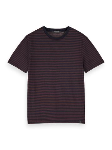 Scotch & Soda | Black Striped T-Shirt